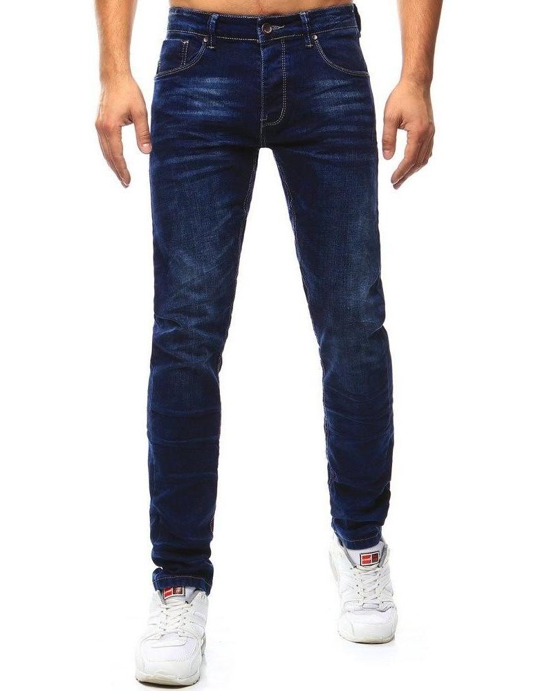 Pánské tmavě modré džíny UX1010