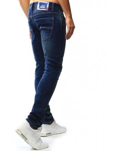 Spodnie jeansowe męskie niebieskie UX1011