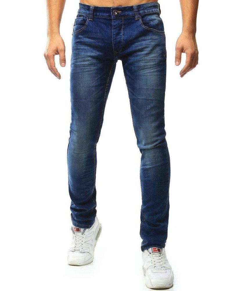 Pánské modré džínové kalhoty UX1012