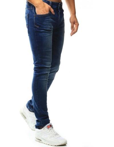 Spodnie jeansowe męskie niebieskie UX1012