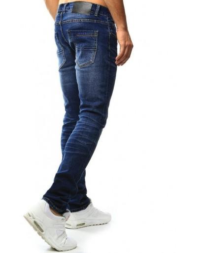 Spodnie jeansowe męskie niebieskie UX1022