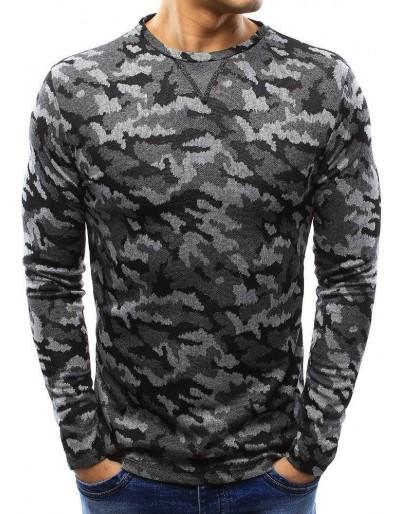 Šedý pánský svetr WX0992