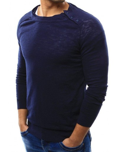 Sweter męski granatowy WX1003