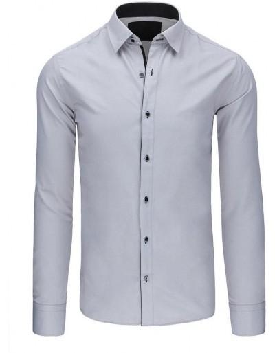 Šedá pánská košile DX1415