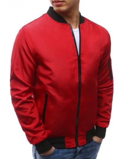 Kurtka męska bomber jacket czerwona TX2170
