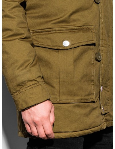 Men's winter parka jacket C365 - olive