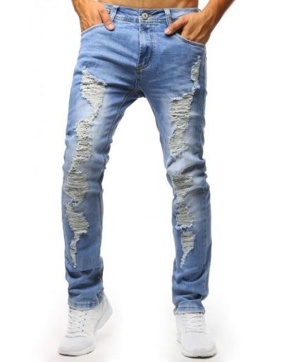 Modré tísňové džíny UX1302