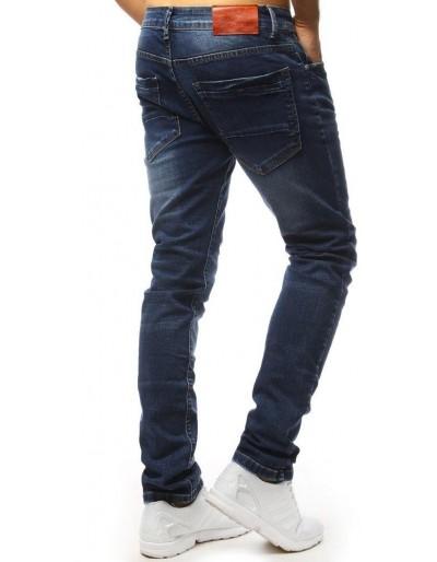 Modré džíny s velkými kapsami UX1317