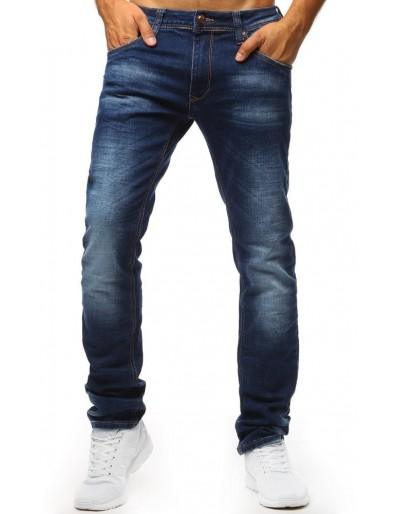 Modré džíny se světlými přechody UX1318