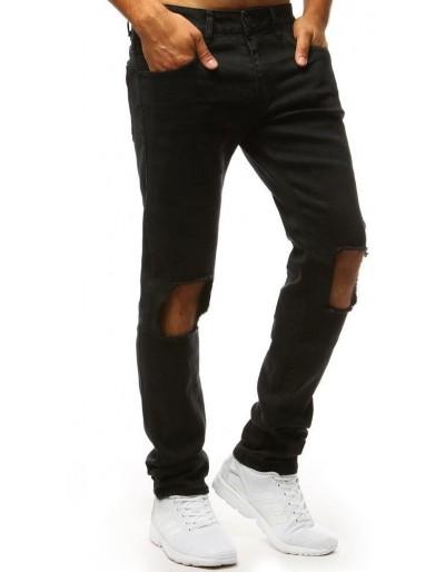 Pánské kalhoty s dírami na kolenou UX1344