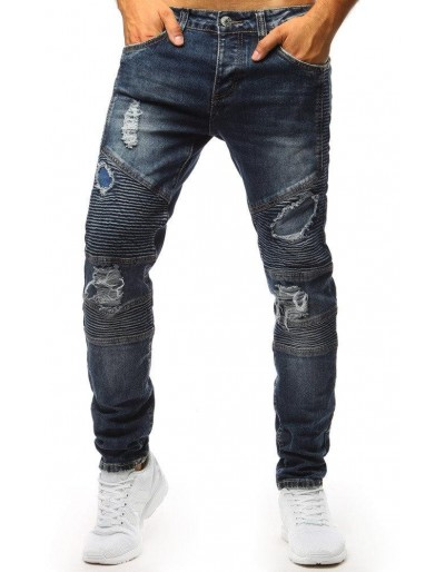 Pánské modré džínové kalhoty UX1358