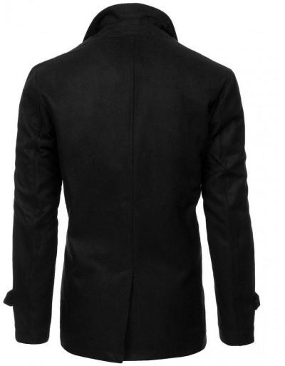 Płaszcz męski czarny CX0377