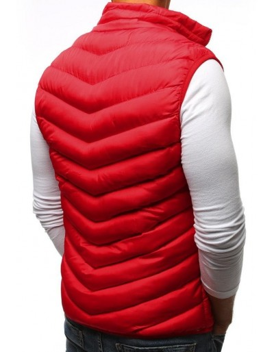 Kamizelka męska pikowana czerwona TX2293