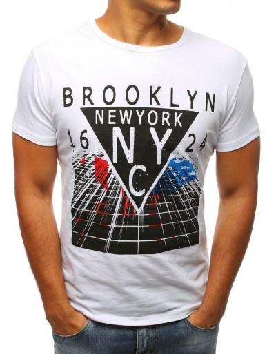 Pánské bílé tričko RX2962