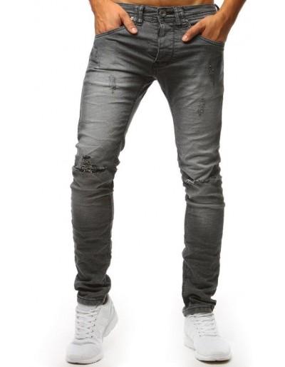 Šedé pánské džínové kalhoty UX1388