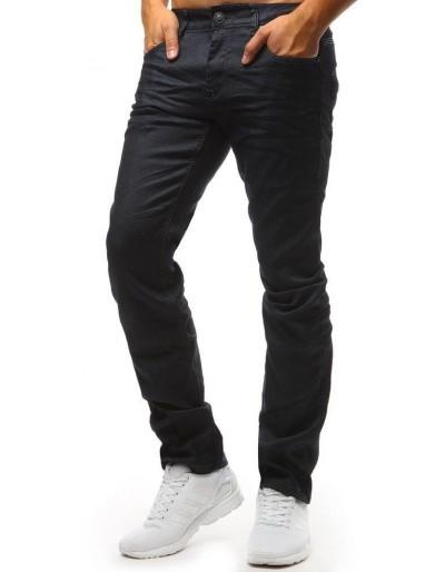 Spodnie jeansowe męskie granatowe UX1441