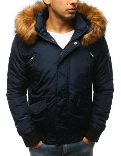Námořnická modrá pánská zimní bunda TX2460