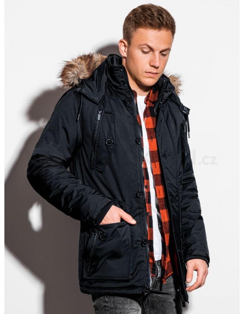 Pánská zimní bunda C361 - černá