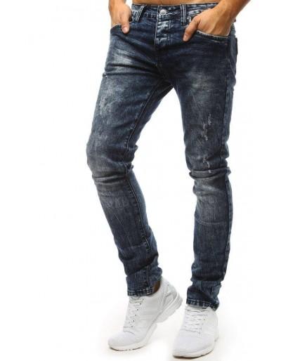 Spodnie jeansowe męskie niebieskie UX1483