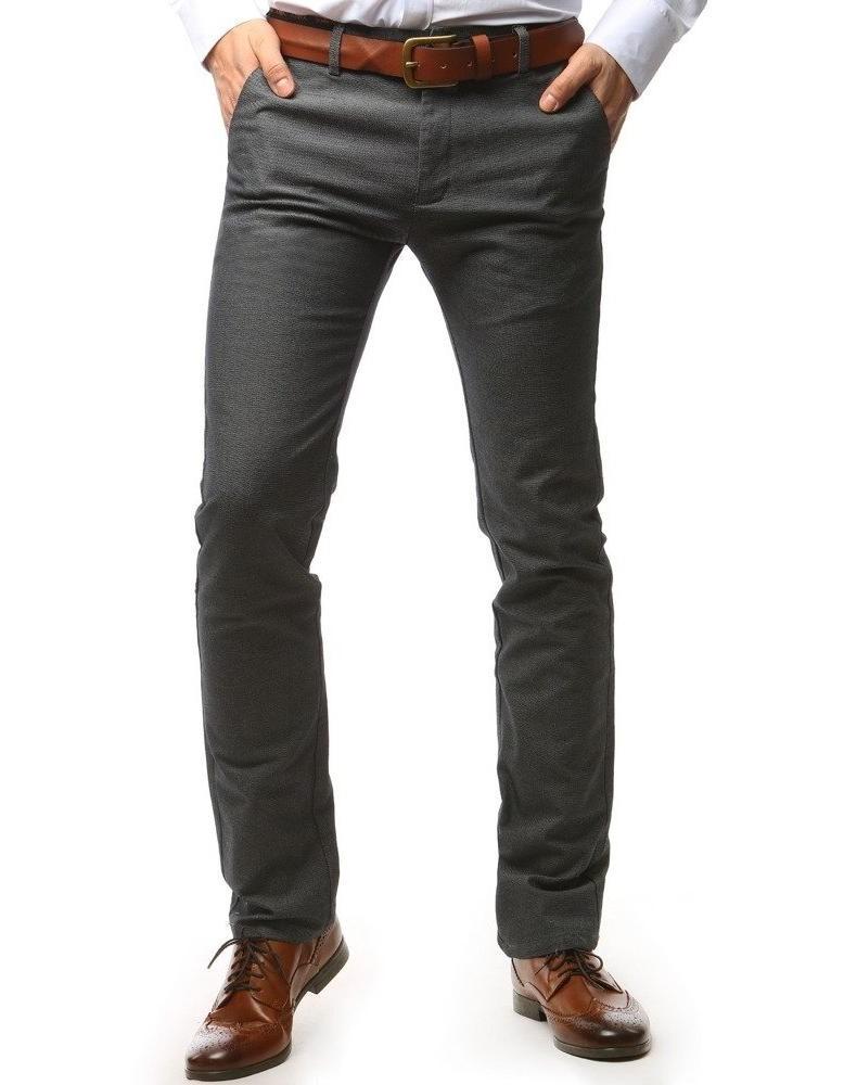 Tmavě modré pánské chino kalhoty UX1491