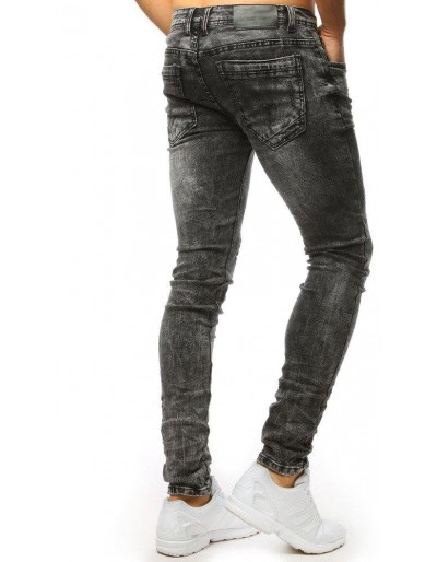 Šedé potrhané džíny UX1500