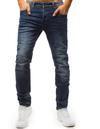 Modré pánské džíny UX1514