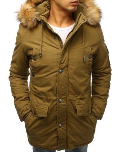Pánská khaki zimní bunda parka TX2471