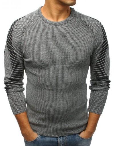 Pánský svetr antracit WX1204