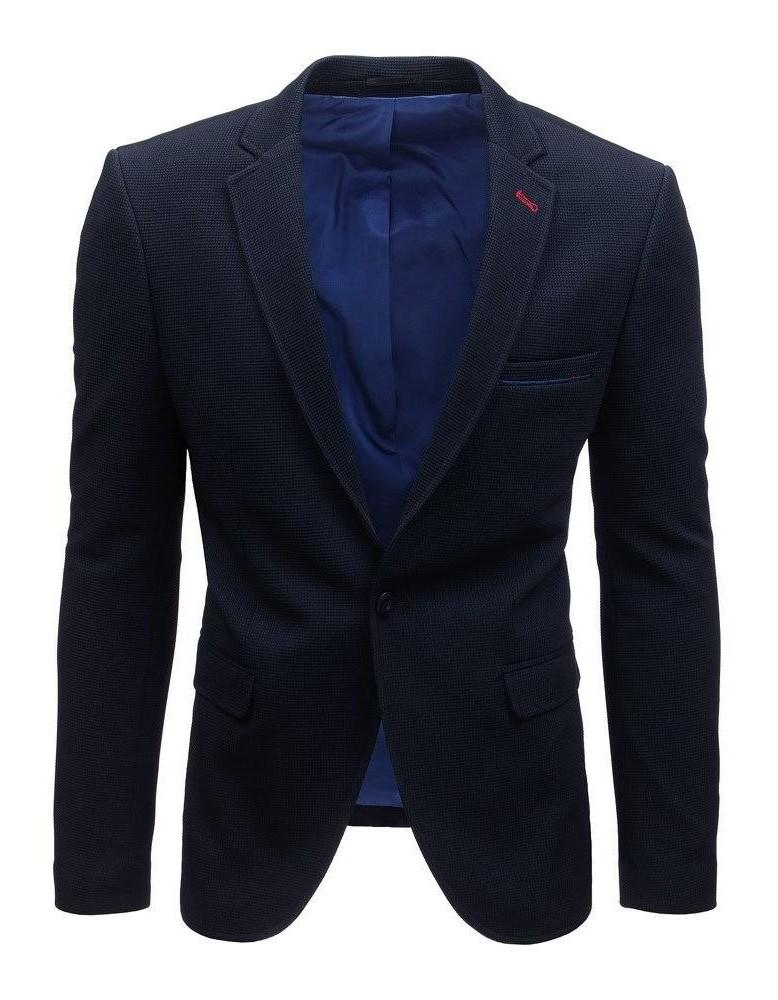 Námořnická modrá pánská bunda MX0439