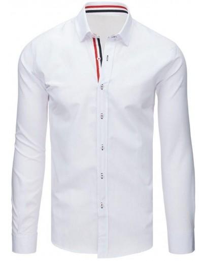 Pánská elegantní bílá košile DX1628