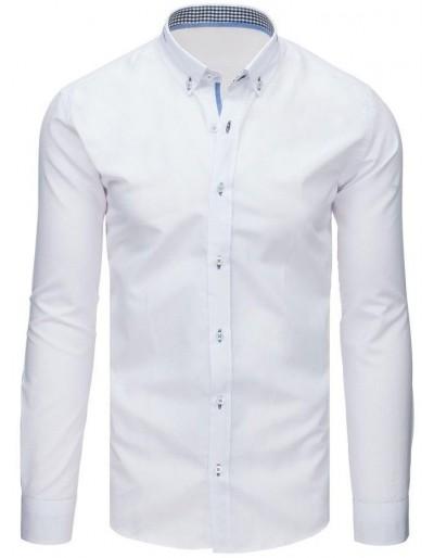 Pánská elegantní bílá košile DX1641