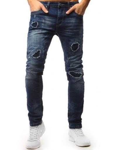 Pánské modré džínové kalhoty UX1555
