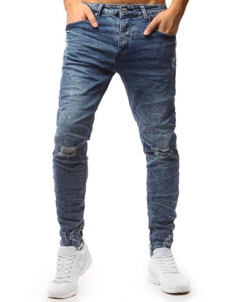Pánské modré džínové kalhoty UX1556