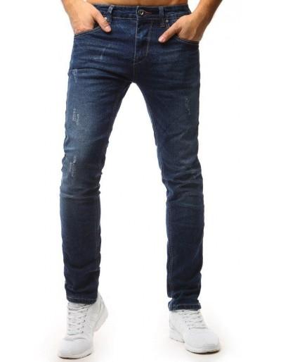 Pánské modré džínové kalhoty UX1560