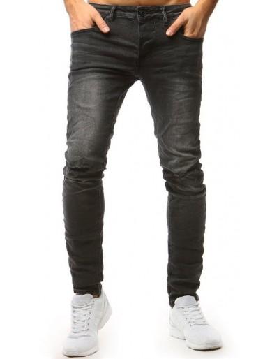 Grafitové pánské riflové džíny UX1568