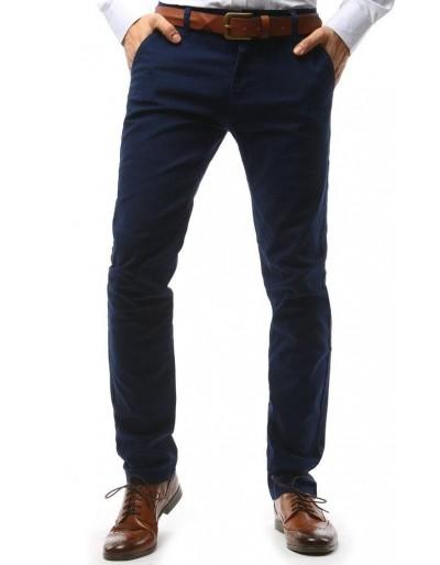 Tmavě modré pánské chino kalhoty UX1571