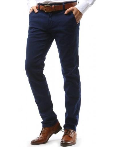 Tmavě modré pánské chino kalhoty UX1572