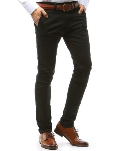 Černé pánské chino kalhoty UX1575