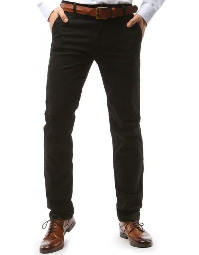 Černé pánské chino kalhoty UX1576