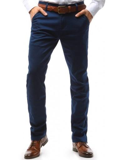 Tmavě modré pánské chino kalhoty UX1582