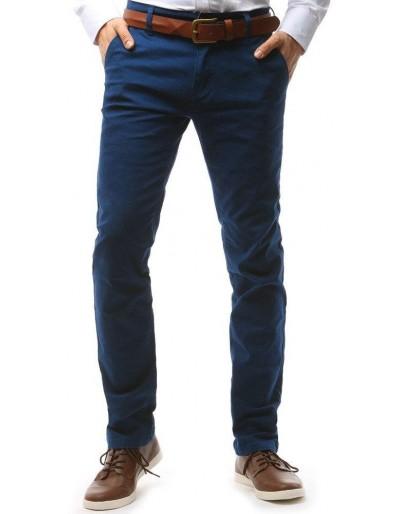 Tmavě modré pánské chino kalhoty UX1584