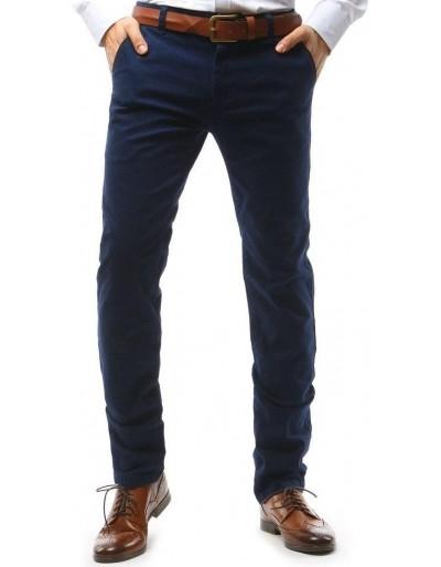 Tmavě modré pánské chino kalhoty UX1585