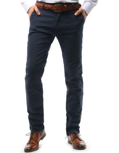 Tmavě modré pánské chino kalhoty UX1588