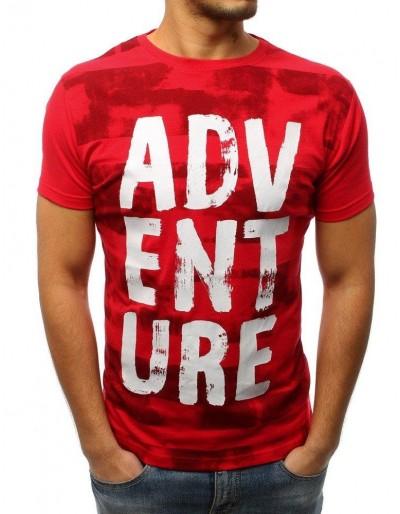 Červené pánské tričko RX2982 s potiskem