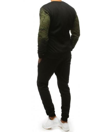 Dres męski zielono-czarny AX0139