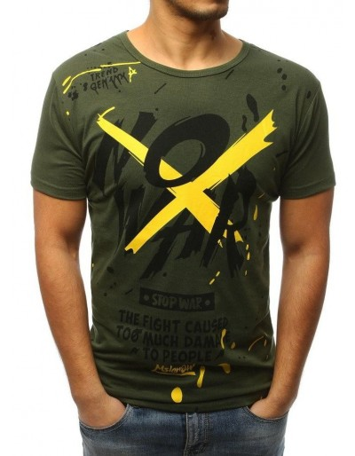 Zelené pánské tričko RX3067