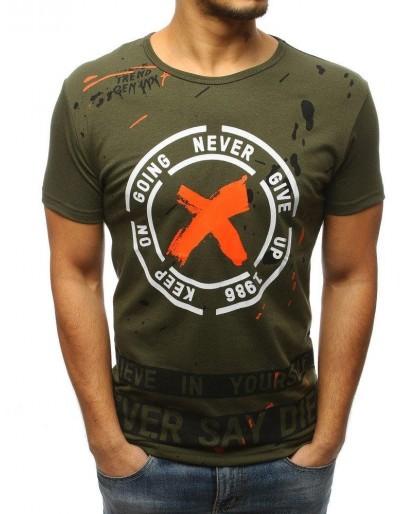 Zelené pánské tričko RX3079