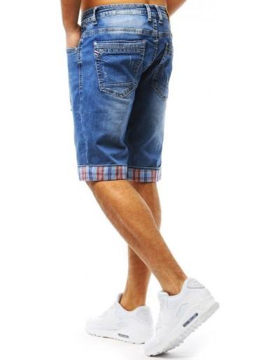 Spodenki jeansowe męskie niebieskie SX0717