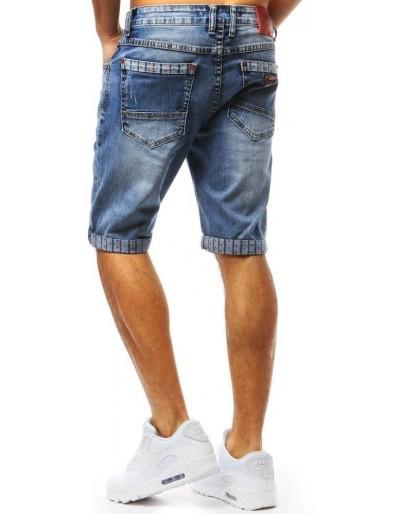 Spodenki jeansowe męskie niebieskie SX0718