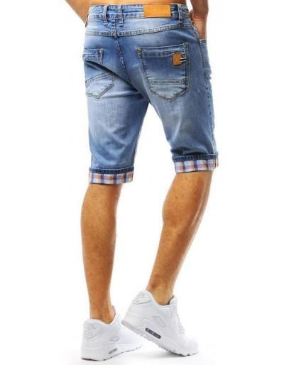 Spodenki jeansowe męskie niebieskie SX0728